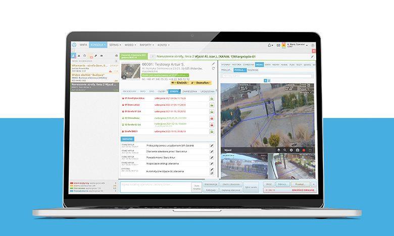 oprogramowanie do centrum monitoringu Safestar